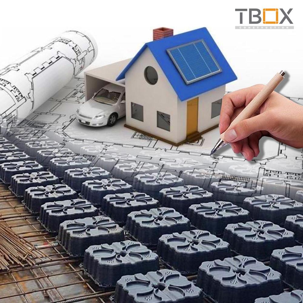 Hướng dẫn thiết kế sàn phẳng TBOX